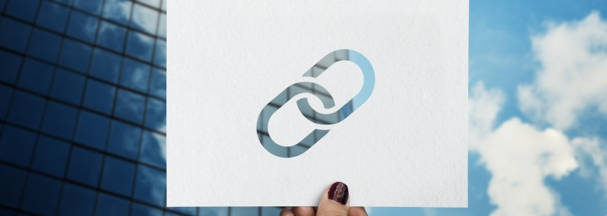 Corporate connected link perforated paper